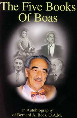 Boas, Bernard: The Five Books of Boas