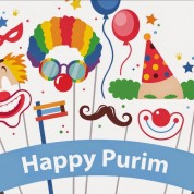 Purim at the library!