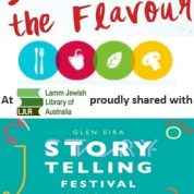 Savour the Flavour – with Glen Eira Storytelling Festival