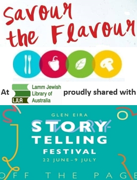 Savour the Flavour – with Glen Eira Storytelling Festival
