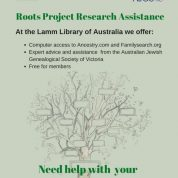Roots Project Research Assistance