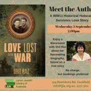 Meet the Author: Love lost in the war / Orit Raz