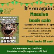 Massive Book Sale @ Lamm