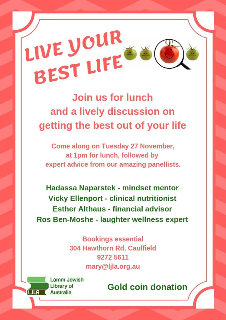 Lunch & Listen: Live your best life