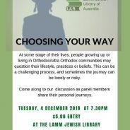 Learning @ Lamm: Choosing Your Way