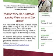 Insulin for Life – with Ron Raab OAM
