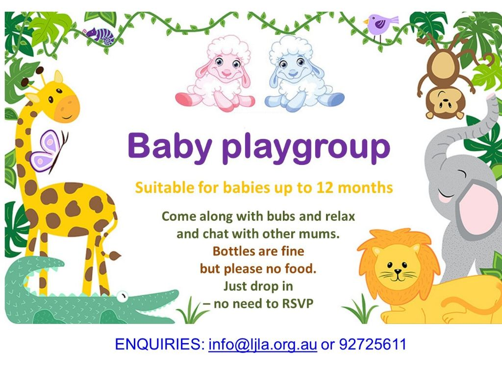 Cancelled: Baby Playgroup