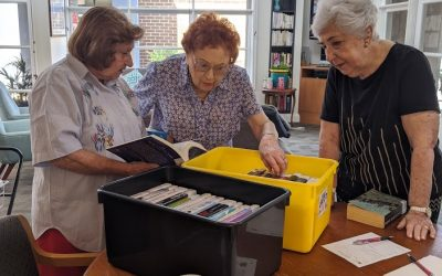 Travelling library is on the move