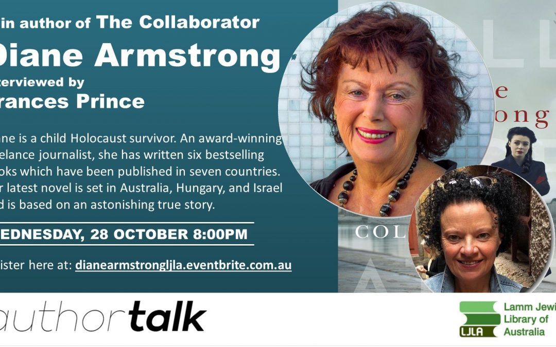 Author Talk: Diane Armstrong