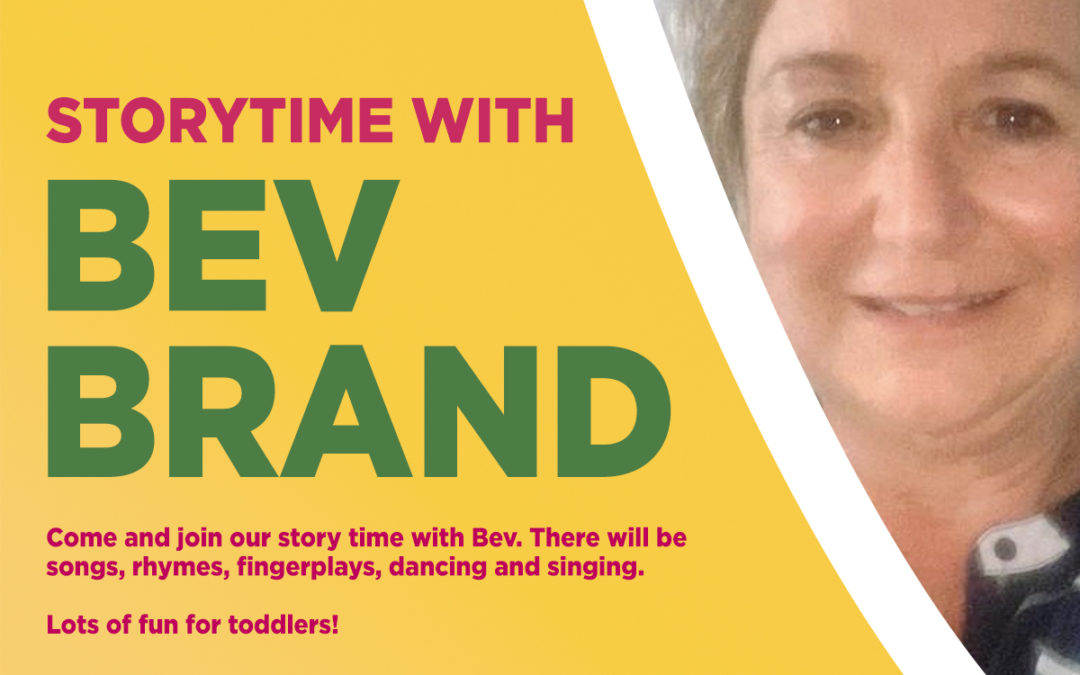 Storytime with Bev Brand